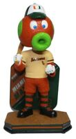 Miami Maniac Miami Hurricanes Baseball Mascot Name and Number Bobblehead NCAA