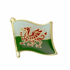 WALES FLAG Enamel Pin Badge Lapel Brooch Fashion Gift Hat Welsh PN21