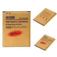 Gold High Capacity Battery EB-L1G6LLU 2850mAh for Samsung Galaxy S3 i9300 New