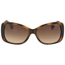 Vogue Dark Havana Square Sunglasses 2843S W65613-56
