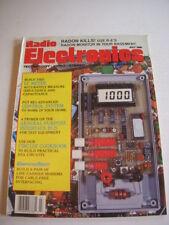 RADIO ELECTRONICS Magazine, JULY 1988, RADON MONITOR, CIRCUIT COOKBOOK, LC METER