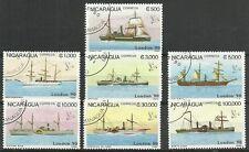 SEGEL-Schiffe/ Nicaragua MiNr 2977/83 o