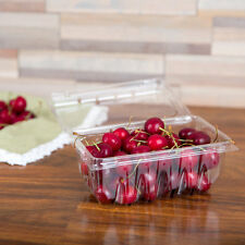 Vented 1 Pound Plastic Berry Containers for Strawberries,Cherry Tomatoes & B...