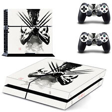 Wolverine Skin Sticker PS4 Playstation 4 Full Console & 2 Controller Wrap - UK