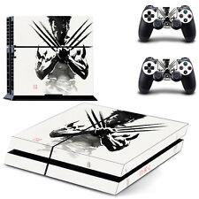 Wolverine Piel Pegatina PS4 Playstation 4 Consola Completa Y 2 controladores Wrap-UK