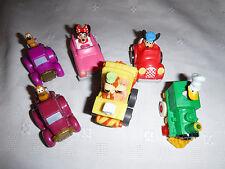 "Miniature Disney Mickey Minnie Mouse Pluto Donald Duck Yogi Bobo Bear Car Toy 2"""