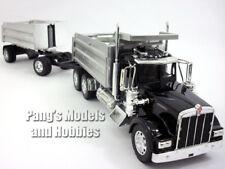 Kenworth W900 Double Dump Truck 1/32 Scale Diecast - Plastic Model