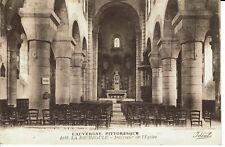 CPA - Carte postale - FRANCE -LA BOURBOULE - ,Intérieur de l'Eglise (iv 317)