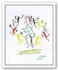 La Ronde Pablo Picasso Abstract Art Print Poster 24x20