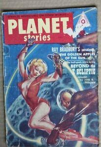 Star Ship Presents Planet Stories #9 1952 Rare British Edition