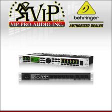 Behringer Dcx2496 Ultradrive Pro Loudspeaker Management System Crossover XLR-ins