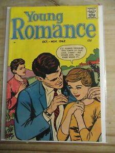 Young Romance vol. 15 #6 Oct-Nov. 1962 Feature GDVG