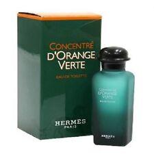 CONCENTRE D'ORANGE VERTE BY HERMES 0.25 oz ( 7.5 ml ) EDT SPLASH MEN MINI NIB