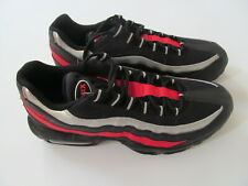 Nike Air Max 95 CQ9704 001  man black/red/silver shoes 10.5 11 Brand New