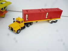Rare Vintage CORGI MAJOR 1106 MACK CONTAINER  TRUCK  NICE CONDITION
