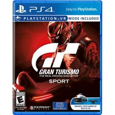 GRAN TURISMO SPORT (PLAYSTATION 4) PS4 - BRAND NEW - RELEASE DAY DELIVERY!