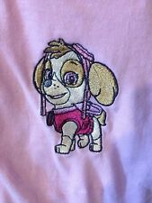 PAW PATROL , SKY, CUSTOM EMBROIDERED TODDLER AND YOUTH SHIRTS