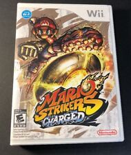 Mario Strikers Charged  [ First Print W/ White Case ] (Wii) USED