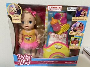 Baby Alive Darci's Dance Class Baby Doll Set Drinks & Wets Kohl's Exclusive NEW