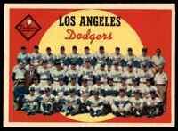 1958 Topps Dodgers Team Nice #457 *Noles2148* Cs 10=Fs