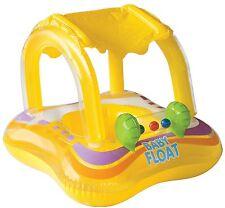 "New listing Intex Kiddie Float, Yellow, 32"" X 26"" With Sunshade New"