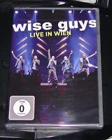 WISE GUYS LIVE IN WIEN DVD SCHNELLER VERSAND NEU & OVP