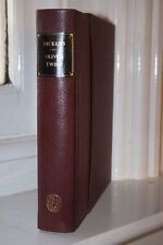Oliver Twist -  Folio Society leather binding special edition