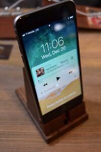 Smartphone Exotic Hardwood Desk Stand/Holder - Wood Cellphone Accessories