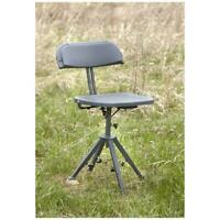 Silent Swivel Hunting Chair 360 Degree Outdoor Height-Adjustable Holds, 300 lbs