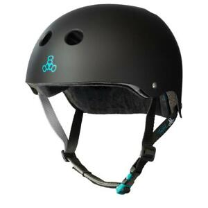 Triple 8 Protection Sweatsaver Certified Tony Hawk Pro Edition Helmet, Black