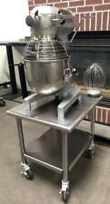 """Hobart A200 20 Quart 3 Speed Bakery Dough Food Mixer Cutter On 24"""" Stand"""