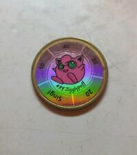 Vintage Pokemon Battling Coin Game Hasbro Nintendo Metal Coin #39 Jigglypuff