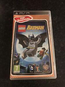 SONY PSP - Lego Batman The Video Game  - NICE CONDITION W/ MANUAL - Freepostage