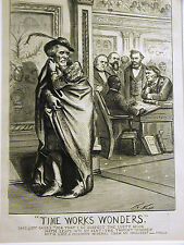 Thomas Nast OTHELLO SHAKESPEARE Black Senator Revels 1870 Antique Print Matted