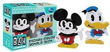 Disney: Mickey Mouse & Donald Duck Blox Mini Vinyl Figures - New In Display Box