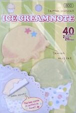 Ice Cream Note Removable Adhesive Paper/Sticky Notes (Your Choice of Design)