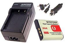 Ladegerät / Akku-Ladegerät und AKKU / Batterie für Sony CyberShot DSC-W50