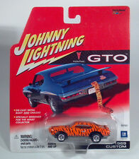 Johnny Lightning1969 Pontiac GTO Goat Tiger Custom Die Cast Scale Model456-01
