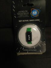 Star Wars Force For Change Wireless Activity Band green Kid Power New #116