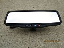 07 - 10 SATURN OUTLOOK XE XR REAR VIEW MIRROR BACK UP CAMERA LCD SCREEN DISPLAY