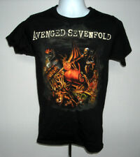 Mens Avenged Sevenfold Nightmare After Christmas t shirt small heavy metal band
