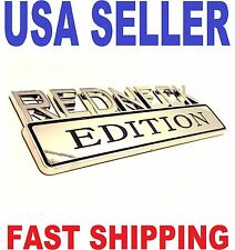 REDNECK EDITION car plymouth EMBLEM logo TRUCK decal  SIGN badge SUV ornament 1