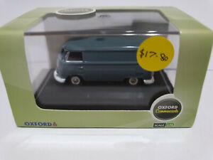 Oxford Diecast 76VWS003 VW T1 Van Dove Blue 1/76 scale