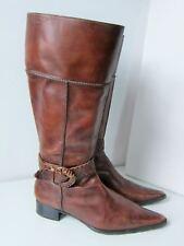 Tamaris Stiefel Bootie braun muskat Gr. 39 Boots Stiefel Reitstiefel brown spitz