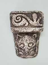 "1994 Historic Impressions Celtic Artifact Celtic Cat Gargoyle Wall Hanging 5.5""x"