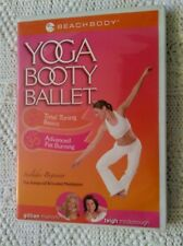 YOGA BOOTY BALLET- TOTAL TONING BASICS - ADVANCED FAT BURNING-DVD, R-ALL