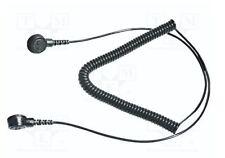 Anti Statique ESD Grounding/Bonding Lead 10 mm - 10 mm Stud - 6 Foot long