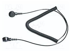Anti Static ESD Grounding / Bonding Lead 10 mm - 10 mm Stud - 12 Foot Long