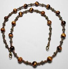 Tigers Eye Strand/String Round Costume Necklaces & Pendants