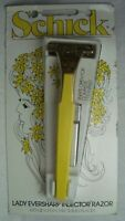 Schick Lady Eversharp Injector Razor with 2 chromium blades